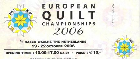 European Quilt Championships